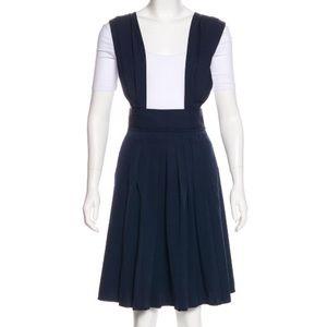 Marc Jacobs suspender wool dress